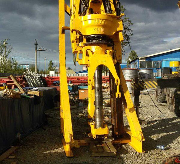Сервисное сопровождение оборудования в процессе строительства скважин