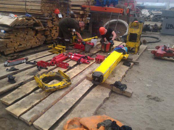 Ремонт в объеме годовой инспекции в АО ЯФ «ССК» 08.2016